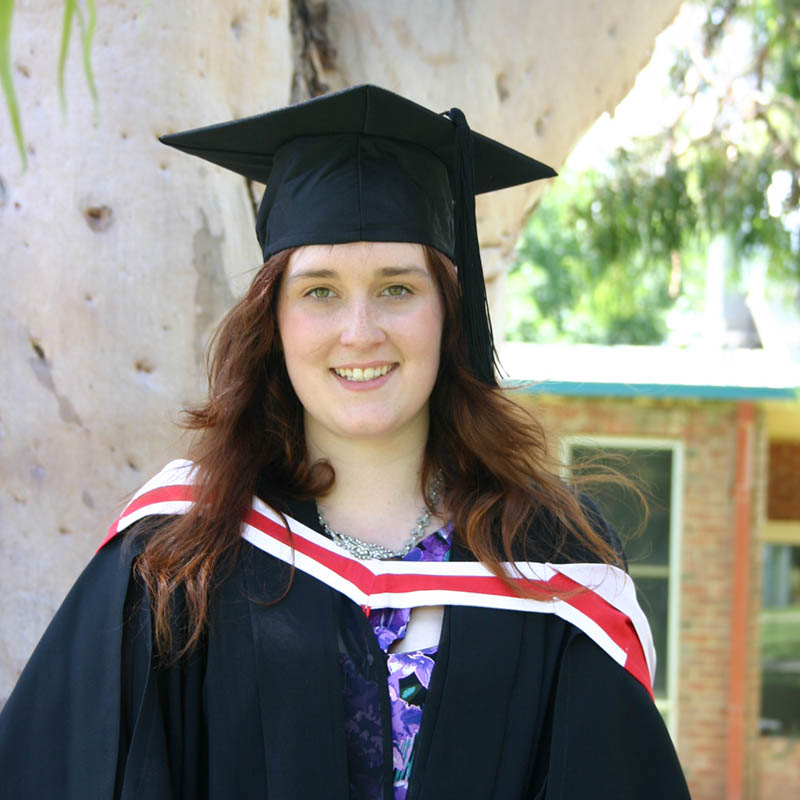 Abbie Hall - Bachelor of Creative Arts and Design (Graphic Design and Photography)