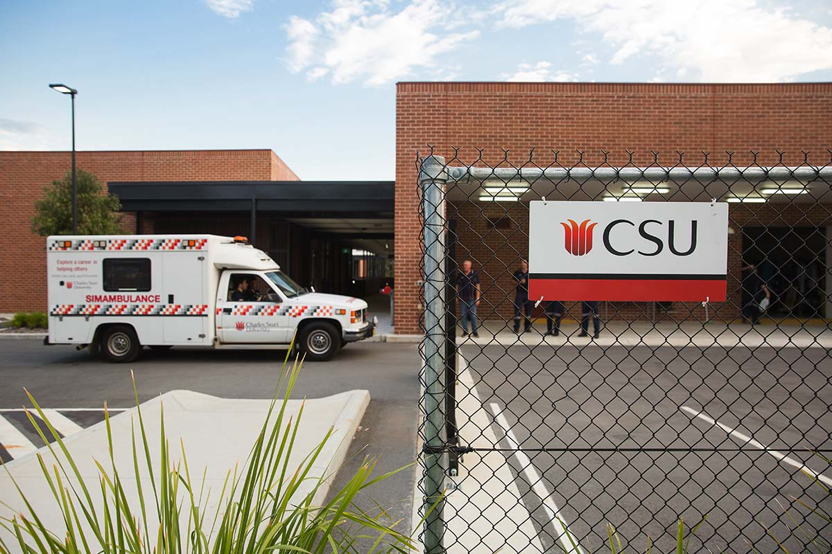 Our simulated ambulance teaches our paramedicine students to think on their feet.