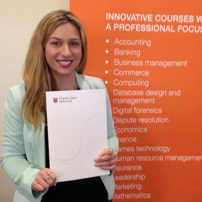 Rebecca Murray – Bachelor of Business (Management)