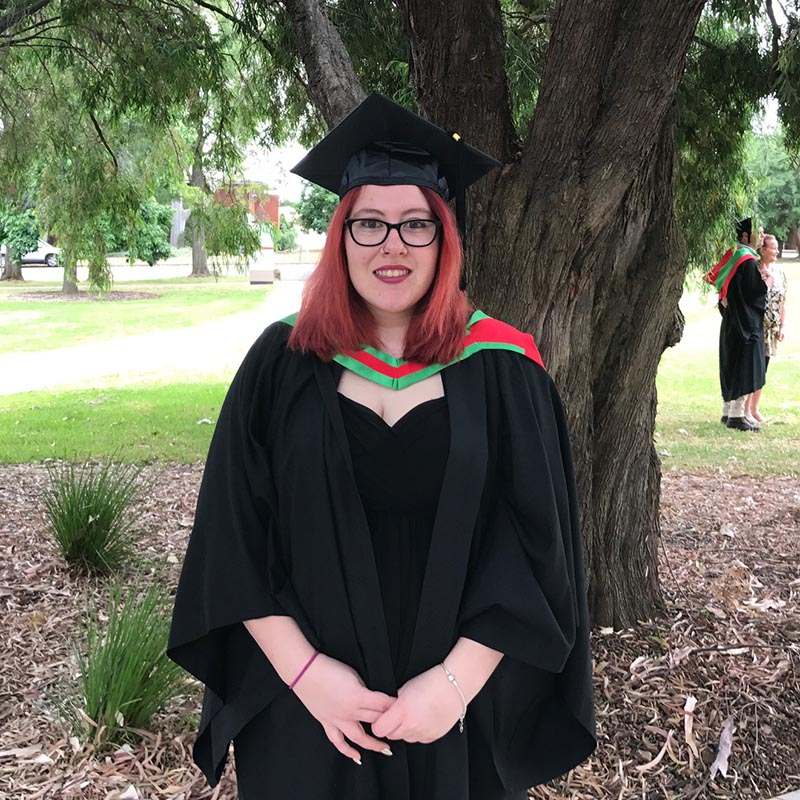 Alisha Eade - Bachelor of Arts