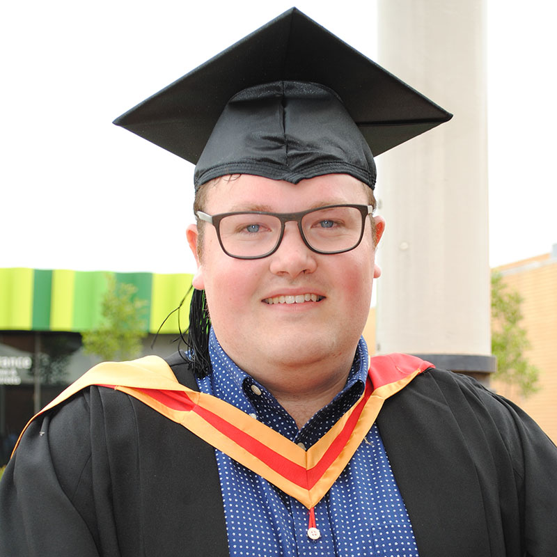 Simon Lloyd - Bachelor of Podiatric Medicine graduate