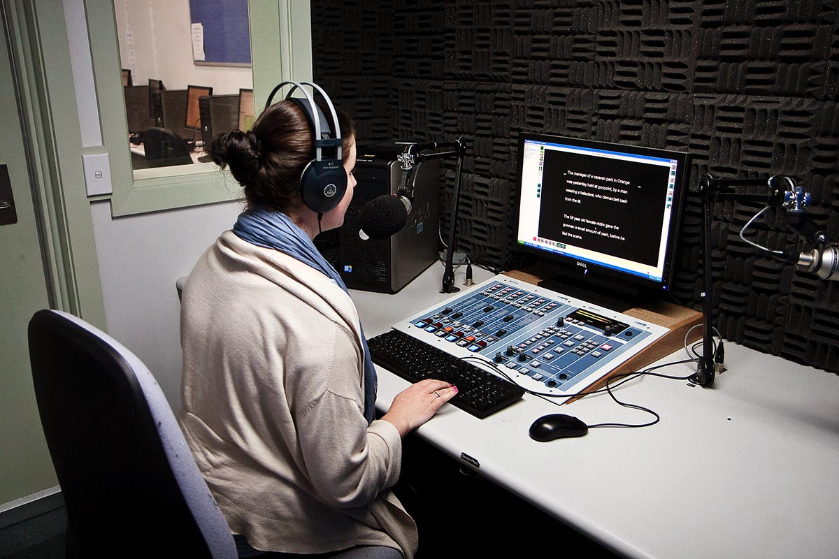 Help produce local news and current affairs stories for broadcast at CSU's own radio station, 2MCE.