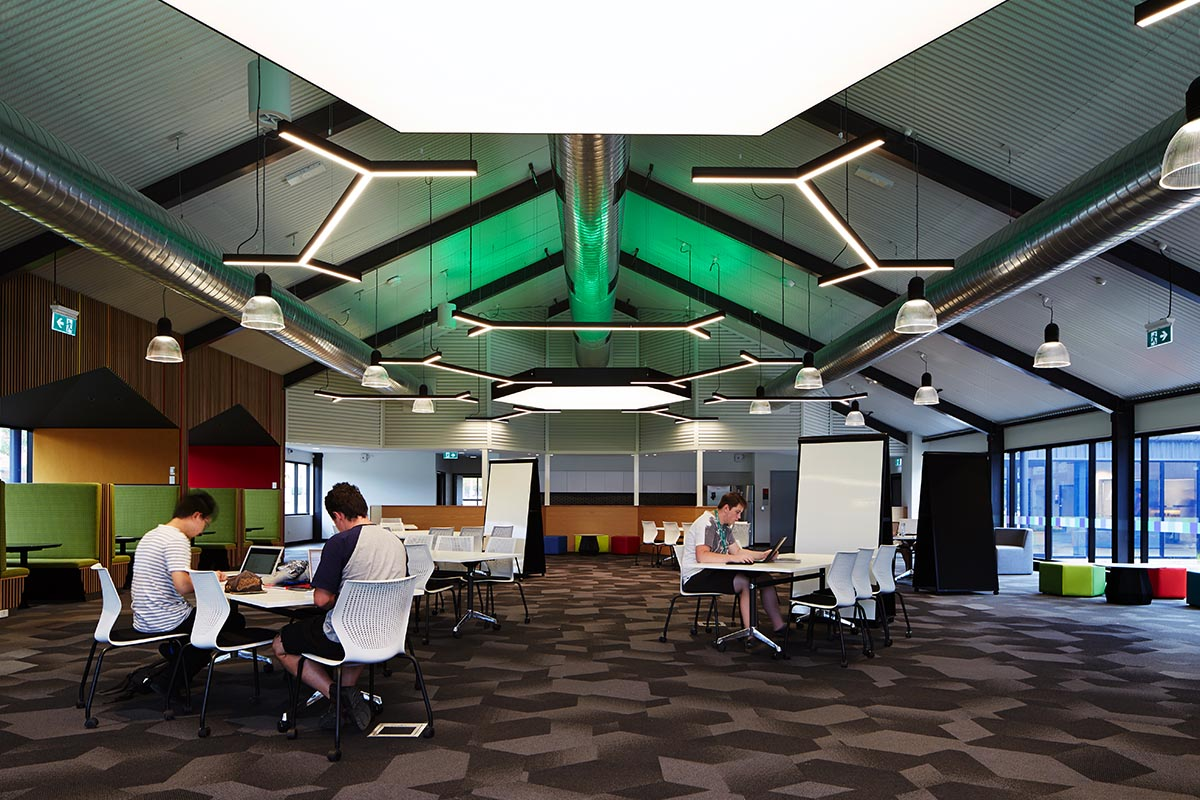 Different spaces are available to suit different types of study – from workshops to research.