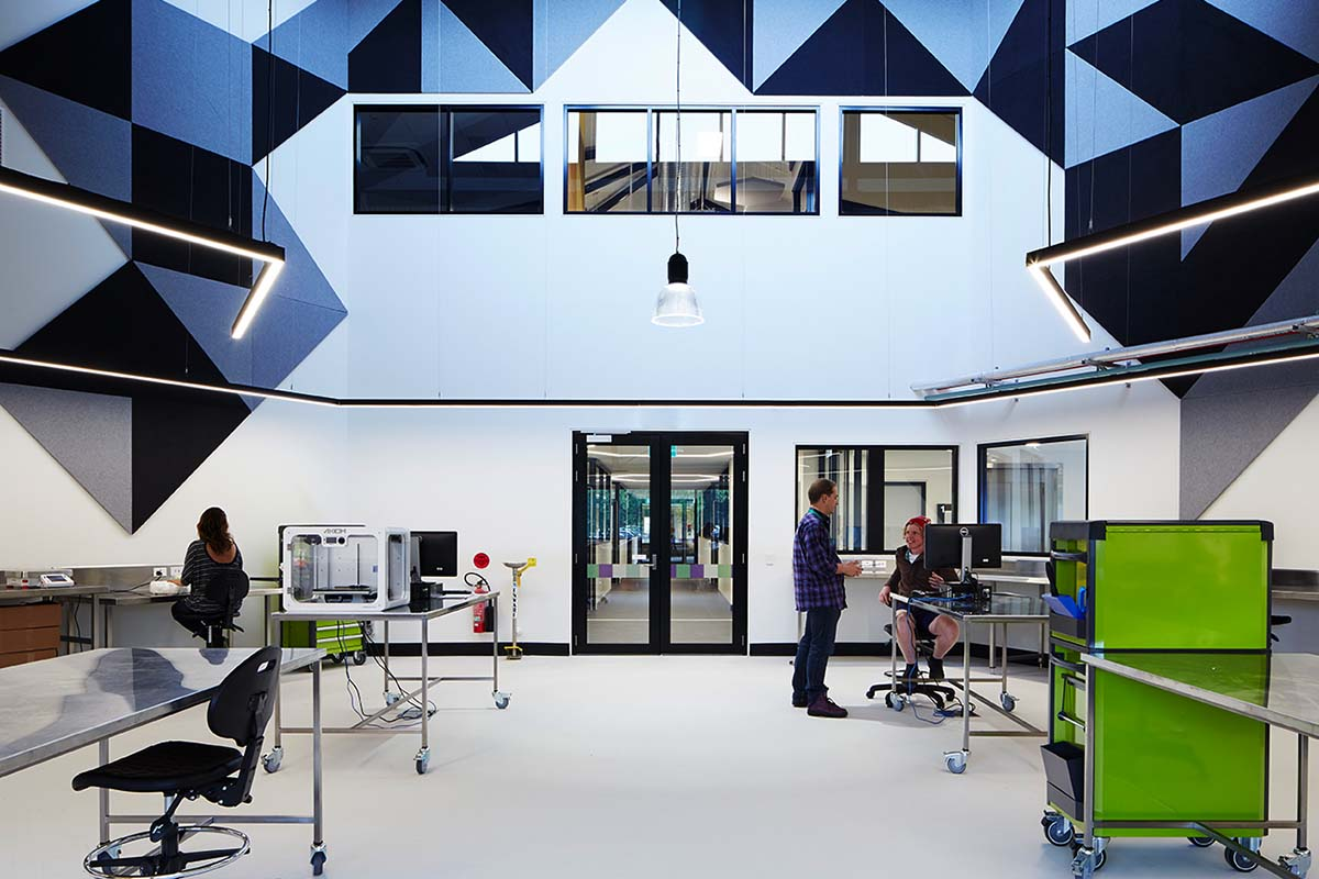 Get hands-on and test your ideas in our dedicated engineering labs.