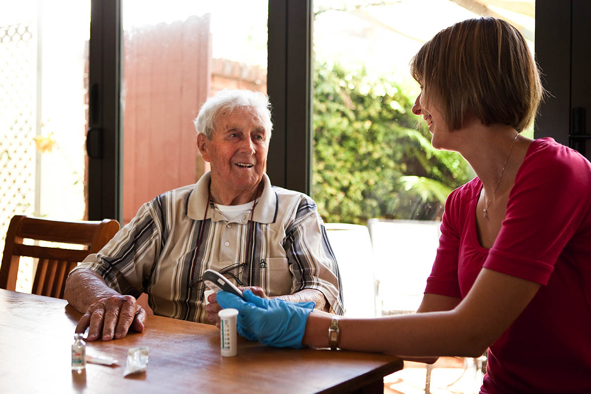 Get hands-on experience through valuable workplace learning at aged care facilities.